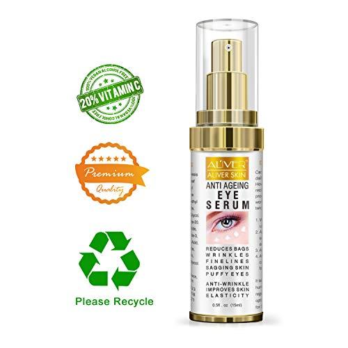 Anit Aging Eye Gel Serum Cream, Reduces Dark circle,Wrinkles, Eye Bags, Fine Lines,Saggy Skin & Puffy Eyes,Anti Aging Eye Cream Moisturizer