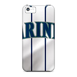 Protection Case For Iphone 5c / Case Cover For Iphone(seattle Mariners)