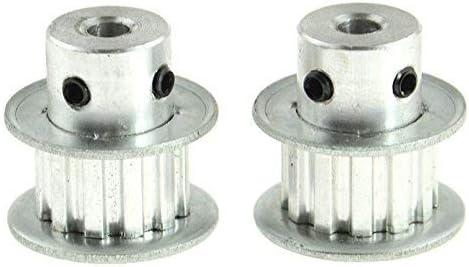 Pxyelec® GT2 - Polea para tirar de cinturón (tipo XL, 12 dientes ...