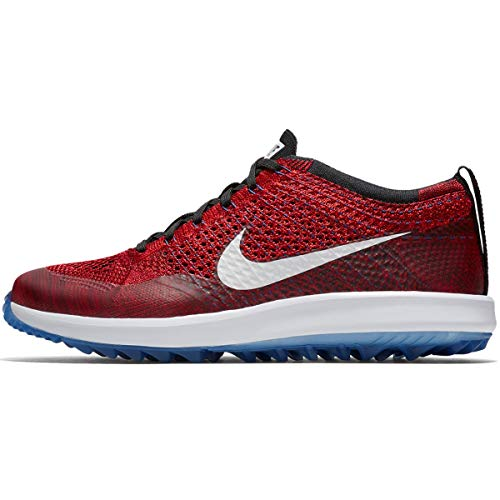 001 Uomo Da Scarpe G habanero Basse Red team Ginnastica Red Racer Red white gym Multicolore Nike Flyknit RxwIg0Ia