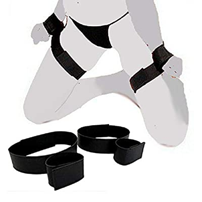 Edonsor Beginner's Nylon Wrist Thigh Cuffs to Bind Your Body: Sports & Outdoors