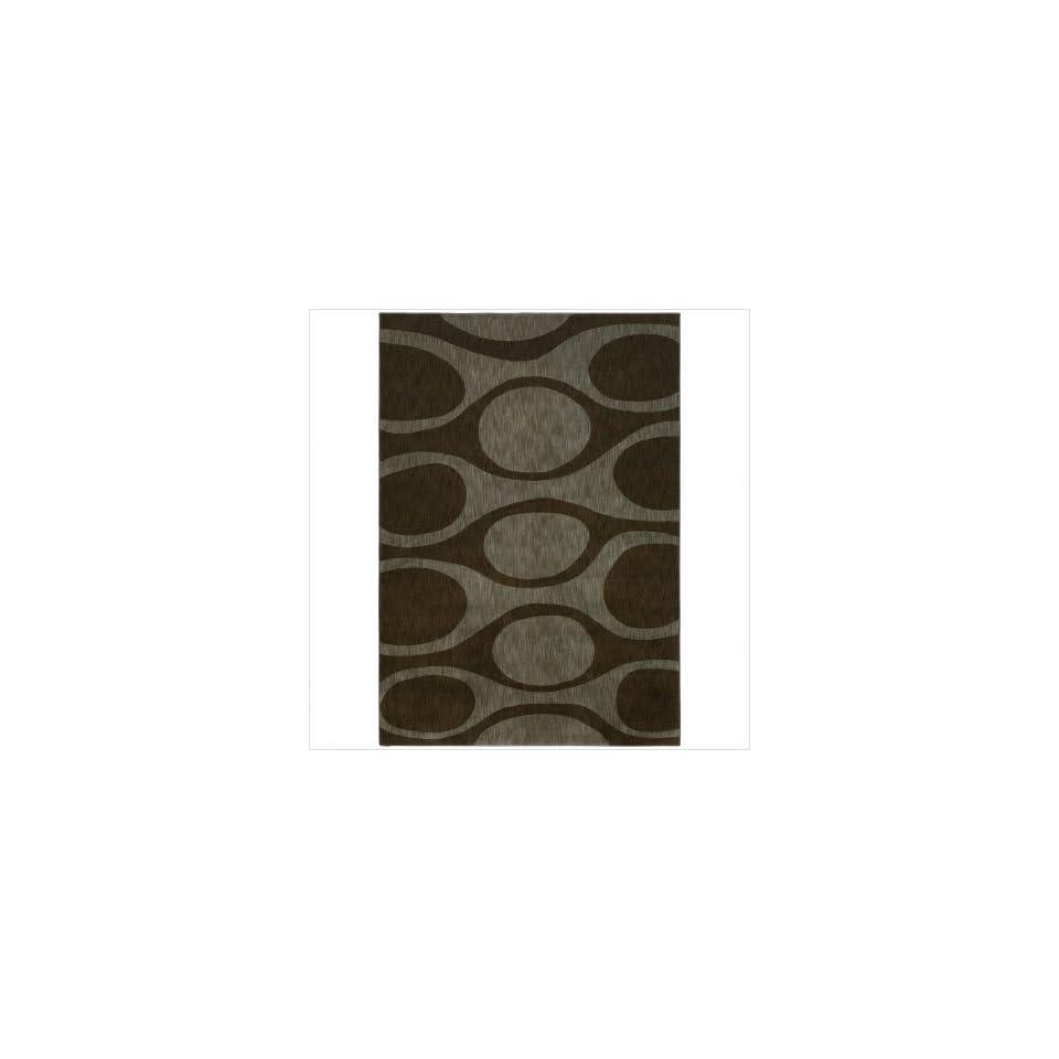 Angela Adams 10710 Kenga Dark Brown Contemporary Rug