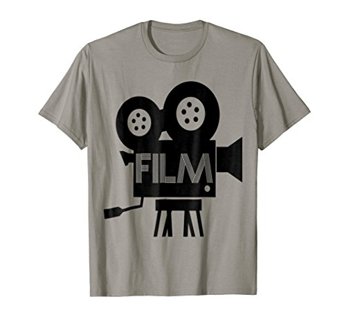 Movie Camera Cinema Film Reel Projector Hollywood T Shirt (Hollywood Projector)