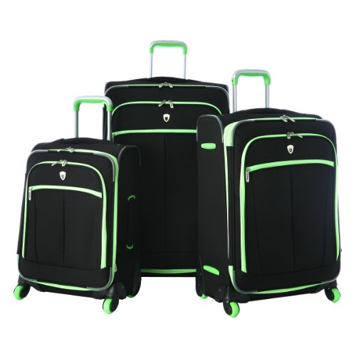 Olympia Evansville 3 Piece Luggage Set