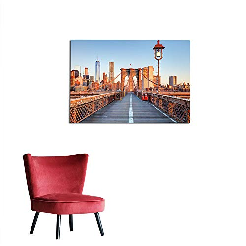 kungfu Decoration Wallpaper City,New York Skyline Closeup Brooklyn