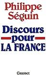 Discours pour la France par Séguin