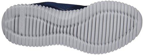 Para Zapatillas Elite Azul Sin Flex grey Skechers Cordones Hombre navy qwOZxwnS
