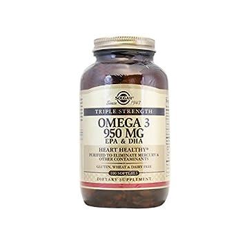 5b8e80118b55 Solgar - Omega-3 EPA   DHA -Triple Strength 950 mg 100 Gellules ...