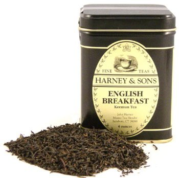 English Breakfast Tea, Loose Tea in 4 ounce Tin