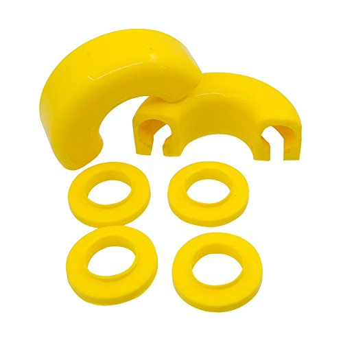 E Autogrilles Pair Yellow Isolator D rings product image