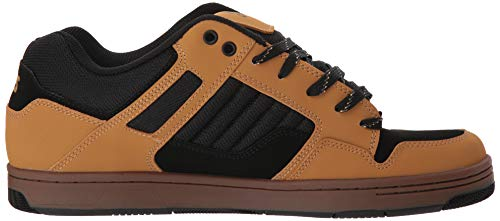 DVS Skateboardschuhe Herren Deegan Nubuck Black 125 Grau Enduro Chamois rCrxSqt