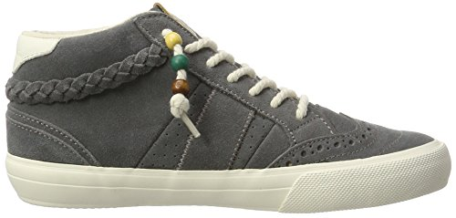 O'Neill Women's Waikiki Braided Suede Hi-Top Trainers Grey (Ash Ka9) cheap price discount authentic ACF4t7I