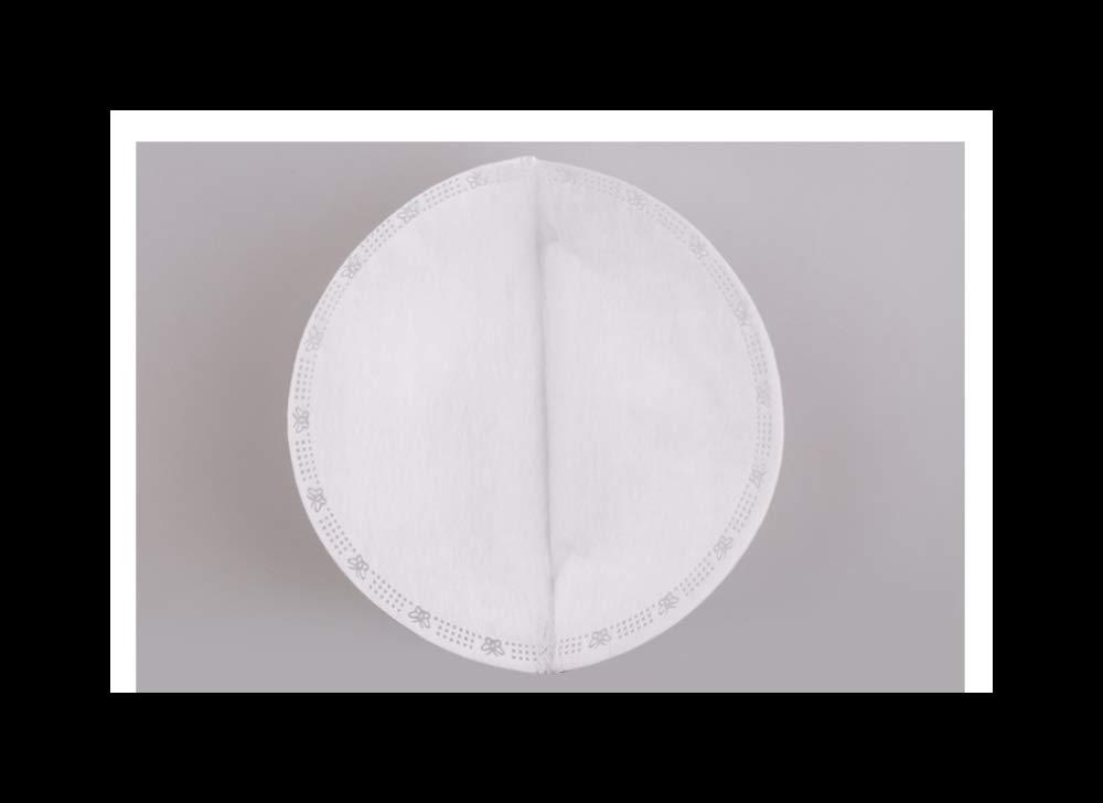 Color : White WW 50 Piezas//Caja m/áscara de polvo desechable coj/ín reemplazo M/áscara m/áscara interior del coj/ín for no Tejidos de algod/ón Almohadilla de repuesto Filtro