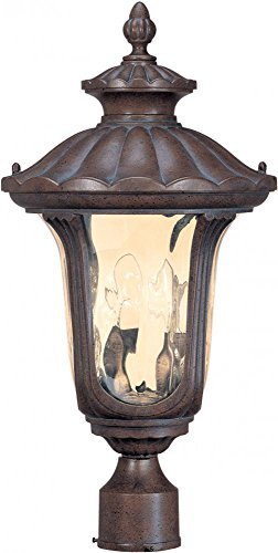 Nuvo Beaumont 60/2009 2-Light Mid-Size Post Lantern - 11W in. - Fruitwood