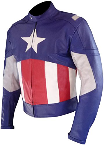 Avengers Jacket Captain Evans America Second Chris UXHx7EnS