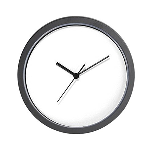 Blank Clock (CafePress - Plain Blank - Unique Decorative 10