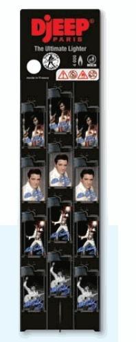 DJeep Elvis Lighter 24pk
