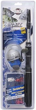 "Zebco Spincast Telescopic Kit  5'6""MED"