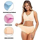 Molasus Women's Soft Cotton Underwear Briefs High