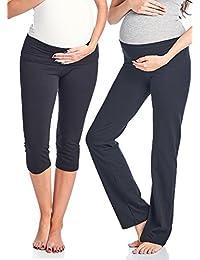Women's Maternity Fold Over Comfortable Lounge Pants
