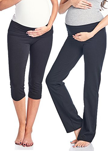 Maternity Capri Pants - 4