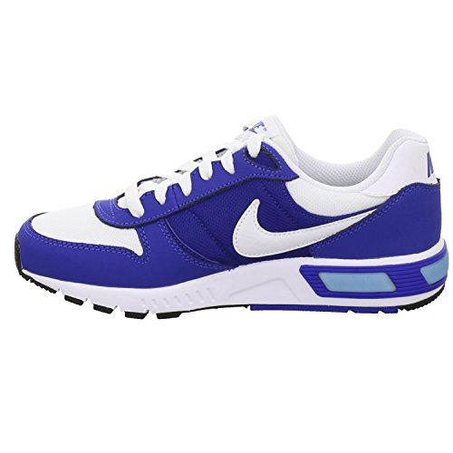 Nike Nightgazer (Gs), Zapatillas de Running para Hombre Blanco (Blanco (white/white-game royal-deep royal blue))