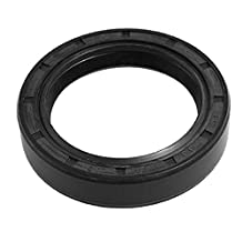 uxcell® Steel Spring Double Lip 35 x 48 x 10mm Engine TC Oil Seal