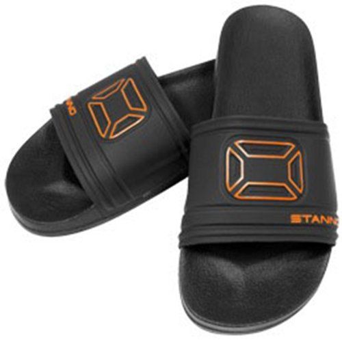 Stanno Stadium Slipper Black-Orange Schwarz-Orange