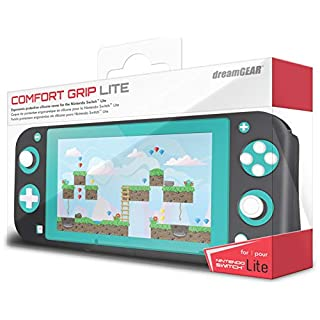 dreamGEAR Comfort Grip Lite - Ergonomic Grip Case - Compatible with Nintendo Switch Lite