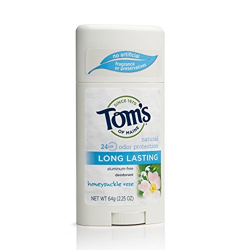 Tom's of Maine 683725 Long-Lasting Deodorant Stick, Honey...