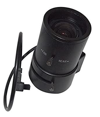 EVertech CCTV Lens - 2.8-12MM VARIFOCAL AUTO IRIS LENS FOR PROFESSIONAL CCD CAMERAS by Evertech