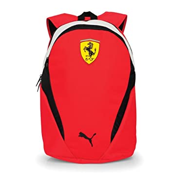 a7082ca241 Scuderia Ferrari Backpack - Rosso Corsa - One Size Only  Amazon.co.uk   Sports   Outdoors