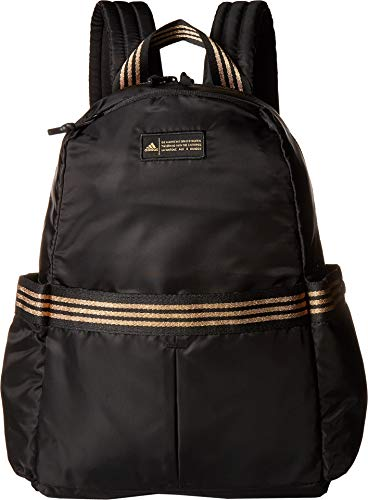 adidas VFA Backpack, Black/Gold Leurex, One Size