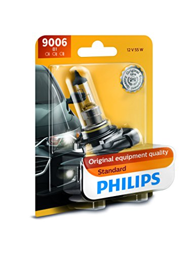 Philips 9006B1 Standard Halogen Headlight Bulb, Pack of 1