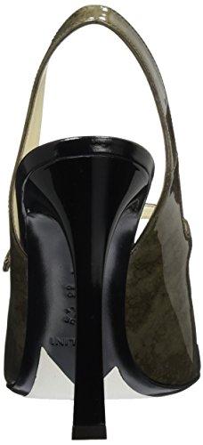 Pollini Zapatos de talón abierto Verde Oscuro EU 41
