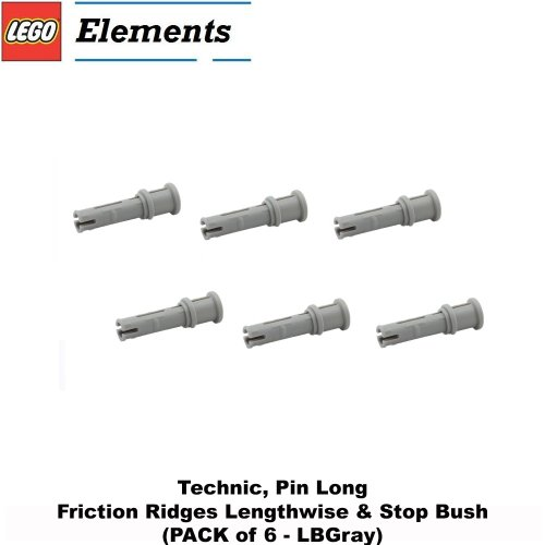 Lego Parts: Technic, Pin Long with Friction Ridges