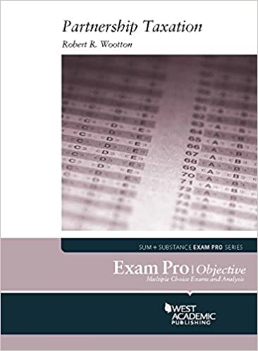 Exam pro on partnership taxation kindle edition by robert wootton exam pro on partnership taxation 1st edition kindle edition fandeluxe Images