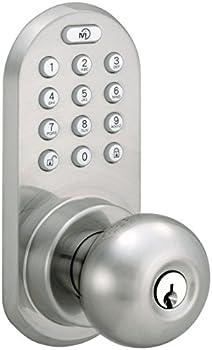 MiLocks BLEKK-02SN Bluetooth and Keypad Door Knob