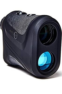 45Crescent Golf Rangefinder with Slope Compensation - Instant Laser Distance Measure with Accuracy to 1' Enhances Club and Shot Selection to Lower Your Score