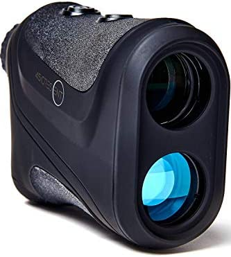 45Crescent Golf Rangefinder with Slope Compensation Instant Laser Distance Measure with Accuracy to 1 Enhances Club and Shot Selection to Lower Your Score