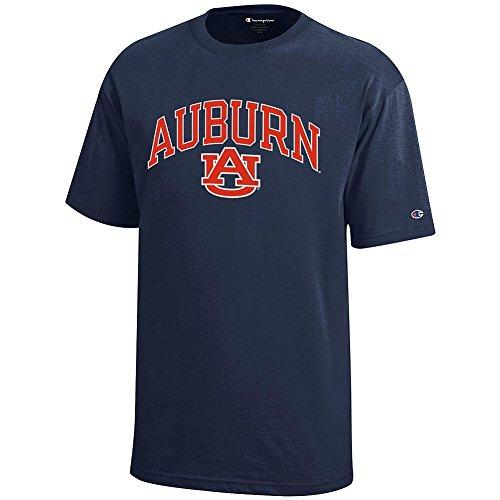 Auburn Kids Shirt - Elite Fan Shop Auburn Tigers Kids Tshirt Navy - XL