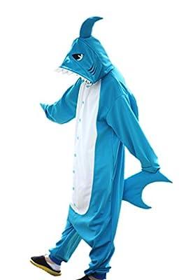 WOTOGOLD Animal Cosplay Costume New Shark Unisex Adult Pajamas