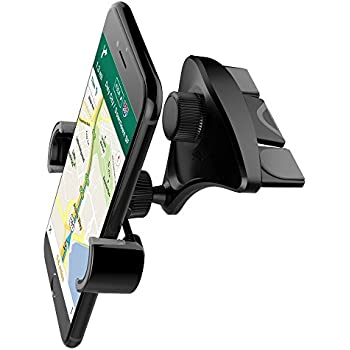 Car Phone Mount, PACKGOUT CD Slot Universal Car Mount Phone Holder With 360 Rotation For IPhone 7 Plus 6s 6 Plus 5s 5 Samsung Galaxy S8 Edge S7 S6 Note 5 All Smartphones 2.2 To 3.2 Inch Width
