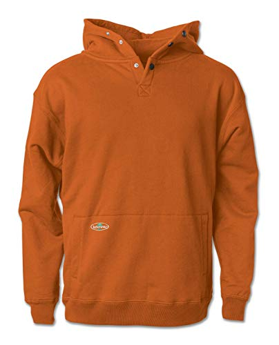 Arborwear Men's Double Thick Pullover Sweatshirt, Burnt Orange, 2X-Large