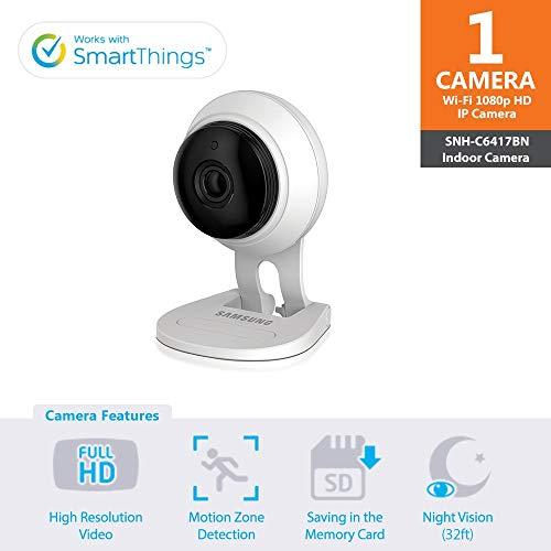 SNH-C6417BN - Samsung Wisenet SmartCam 1080p Full HD Wi-Fi Camera (Certified Refurbished)