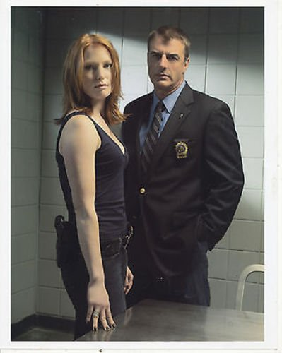 CHRIS NOTH/ALICIA WITT/LAW AND ORDER CRIMINAL INTENT/8X10 COPY PHOTO BB8411