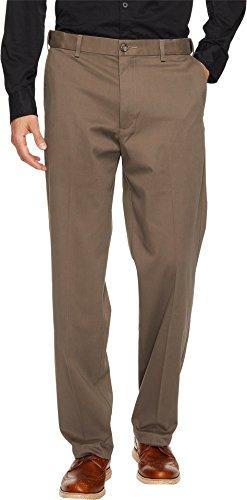 Comfort Fit Stretch Pants - Dockers Men's Comfort Stretch Khaki Classic-Fit Flat-Front Pant, Dark Pebble (Stretch), 34W x 30L
