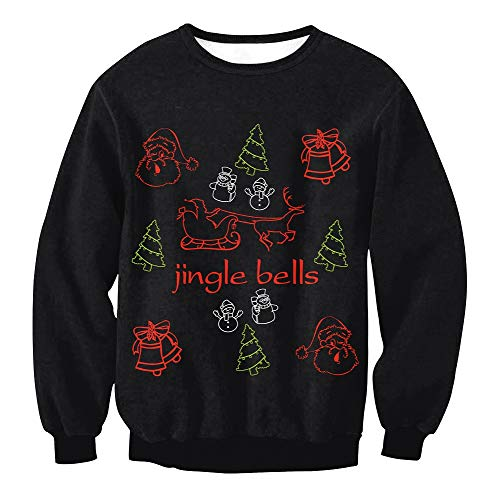 3d Per E Stampe Natalizi Varie Costumi Feste Natalizi regali Casuali Natale Natalizie Felpe Maglioni In 1qxP85f7