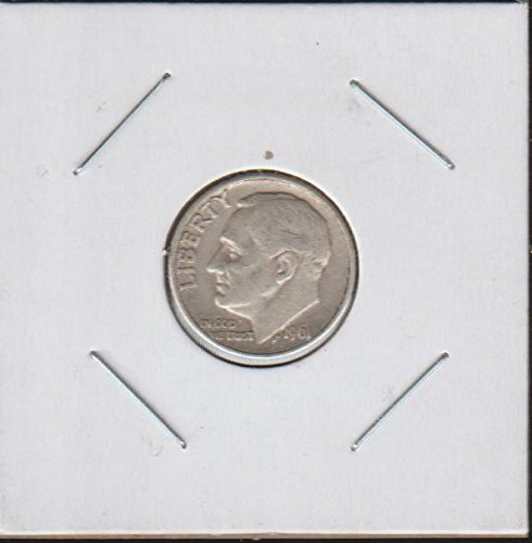 1961 D Roosevelt (1946-to Date) Dime Very Fine