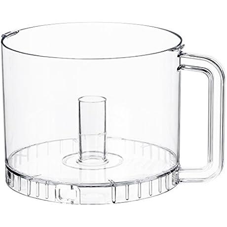 Waring Commercial FP252 Food Processor Batch Bowl Clear 2 5 Quart